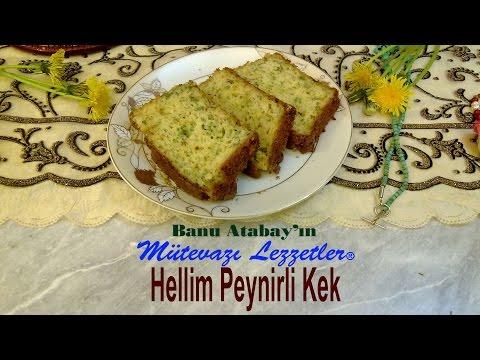 Hellim Peynirli Kek (Kek Tarifleri)