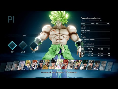 Jump Force - Broly Full Power (Dragon Ball Super) Gameplay (MODS)