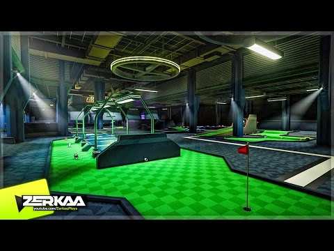 NEW MINIGOLF GAME WITH POWERUPS! (Minigolf Mania Beta)