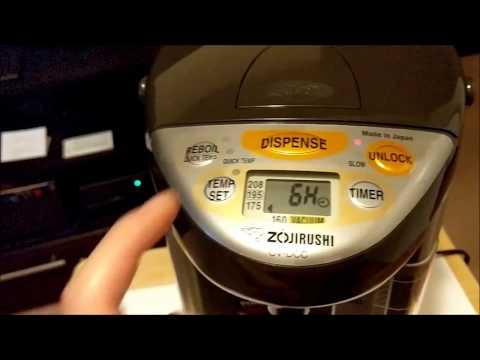 Zojirushi CV-DCC40XT VE Hybrid Water Boiler 4-Liter Hot Water Pot