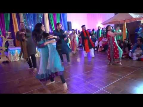 best mehndi dance ever RDB |NINDY KAUR | RAFTAAR-TAMANCHE PE DISCO