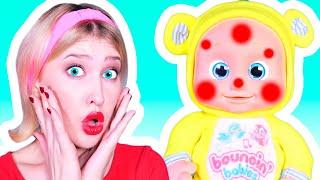 Miss Poly Had A Dolly Song | 동요와 아이 노래 | 어린이 교육