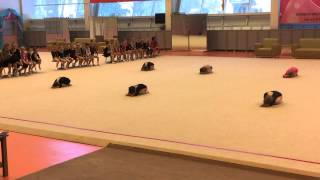 Сдача нормативов по худ гимнастике май 2015 2 часть