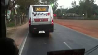 Hanif enterprise (4383) gas vs hanif enterprise (6022) diesel @ dhaka bogra highway
