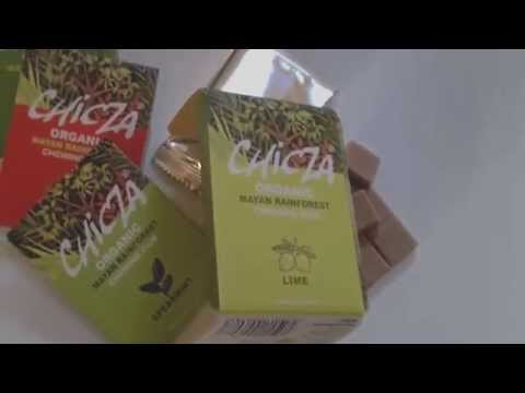 CHICZA Chewing-Gum BIO - PACKAGING - Organic Chewing Gum