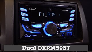 Alpine CDE-125BT Car Receiver Display and Controls Demo