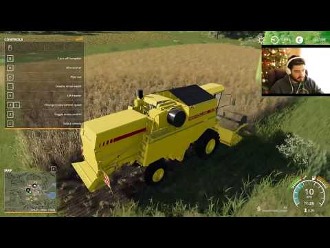 Farmer Plays Farming Simulator