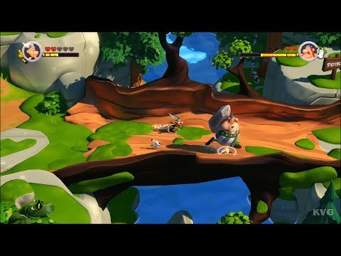 Asterix & Obelix XXL 3 - The Crystal Menhir - CoOp Gameplay (PS4 HD) [1080p60FPS]