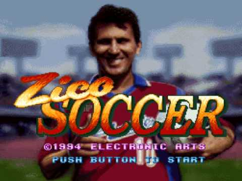 Zico Soccer - Super Nintendo Entertainment System [GAMEPLAY]