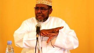 daawo sheekh aadan siiro oo ka hadlay dhibaatada hoggaamineed ee haysata dunida muslimka