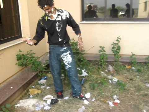 University of Gujrat (UOG) IT 3rd sems Boys Celebrating Birthday of Dani..Video By Jimmy