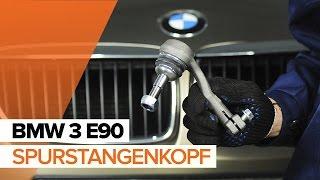 Wie und wann Spurstangengelenk BMW 3 (E90) auswechseln: Video-Anleitung