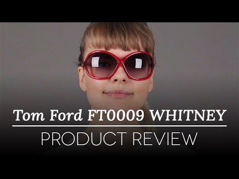 1ecd98ade2e1 Tom Ford Sunglasses Review - Tom Ford FT0009 WHITNEY 72B Sunglasses ...