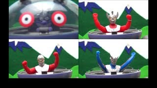 Ultraman Mainan Baikinman  Popping out from Dadandan Toy for Kids  BANDAI