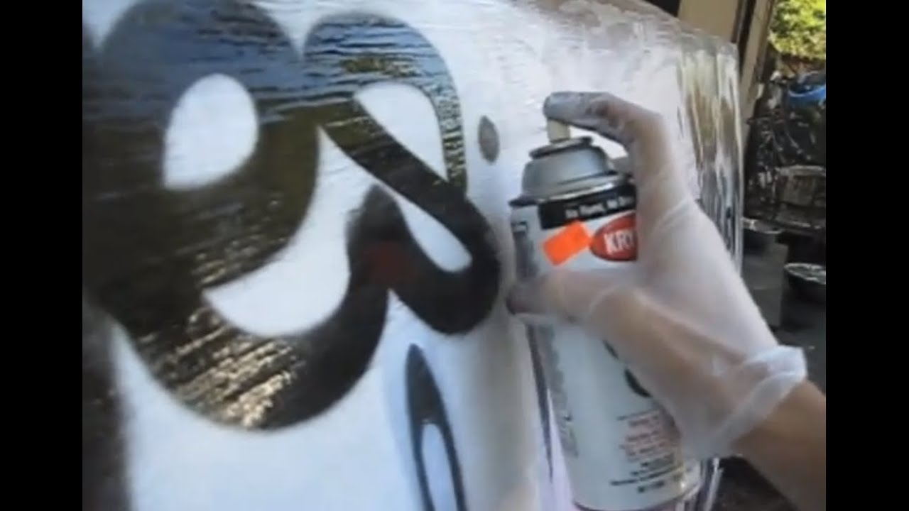 Reskews Graffiti Tutorial 9 Spraypaint Can Control Ideas