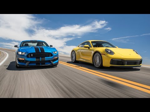 Ford Mustang Shelby GT350 Vs. Porsche 911 Carrera S—2019 BDC Hot Lap Matchup