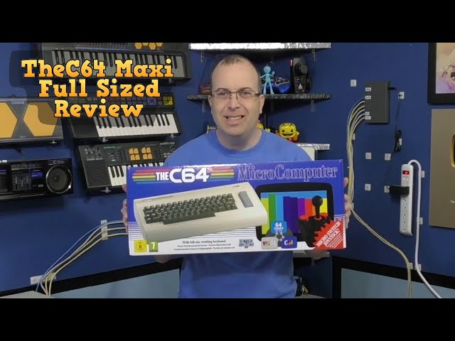 TheC64 Maxi - Full sized C64 review and disassembly