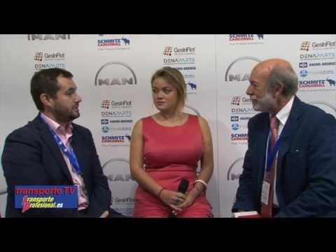 Entrevista a Javier Lopez por Javier Baranda en el XVI Congreso de Transporte CETM
