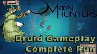 Preview: Moon Hunters Druid Gameplay | Full Run | PC Walkthrough 1080p HD Diablo like