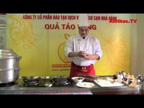 Gà ác tần thuốc bắc (Vào bếp cùng Sao - số 44) - tapchiamthuc.vn - amthuc.tv