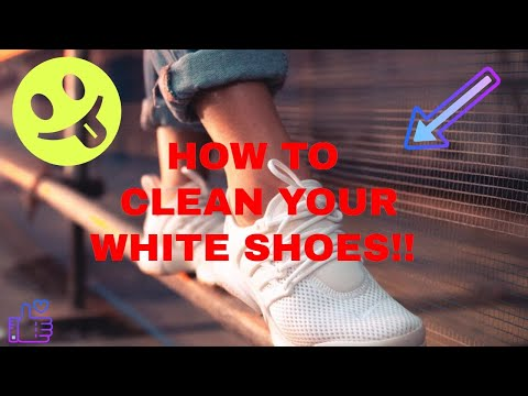 HOW TO CLEAN LIGHT COLORED SHOES