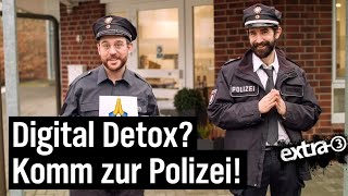 Mediensüchtig? Digitales Entschlacken bei der Polizei