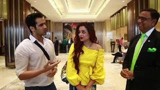 Television actress Parul Chauhan & Chirag Thakkar at Pride Plaza Hotel Aerocity