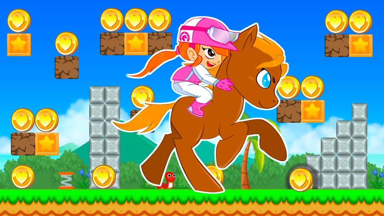Pony Run Magic Trails - Carreras de Ponys - Juegos para Niños
