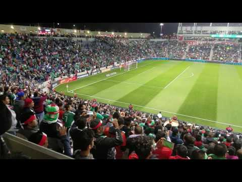 Mexico National Anthem Toyota Park