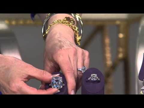 The Elizabeth Taylor 7.20cttw Simulated Diamond Ring with Mary Beth Roe