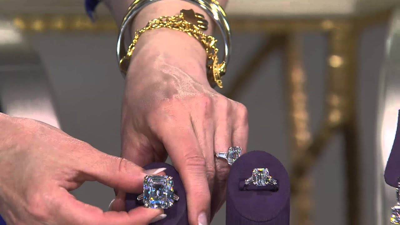 The Elizabeth Taylor 7.20cttw Simulated Diamond Ring with Mary Beth ...