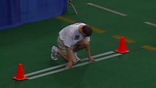 Tom Brady runs 40-yard dash at 2000 NFL Scouting Combine