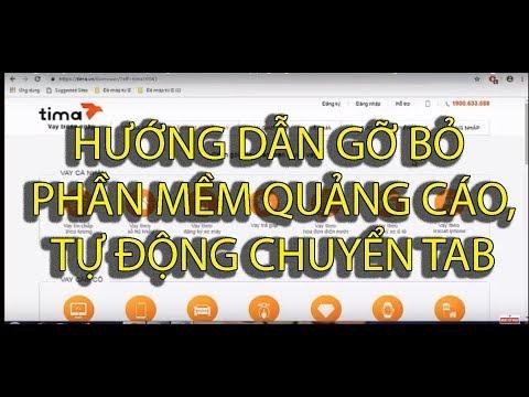 Hướng dẫn gỡ bỏ phần mềm quảng cáo trên trình duyệt google chrome - Thành công 100%