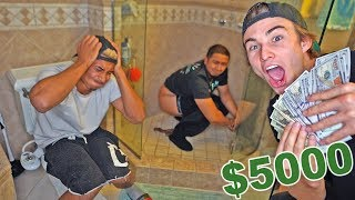 (Laxative Challenge) Last one to poop wins $5000..