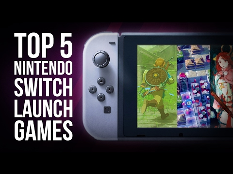Nintendo Switch | Top 5 Launch Games