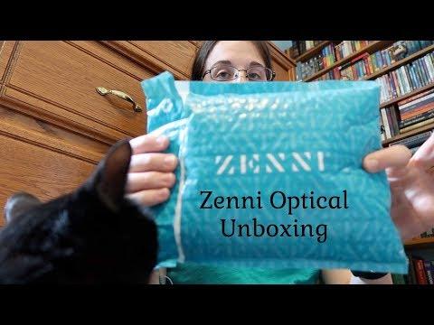 Zenni Optical Glasses Unboxing Haul