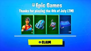 HOW TO GET *RARE* 4th of July SKINS in Fortnite (Star-Spangled Ranger & Star-Spangled Trooper RETURN