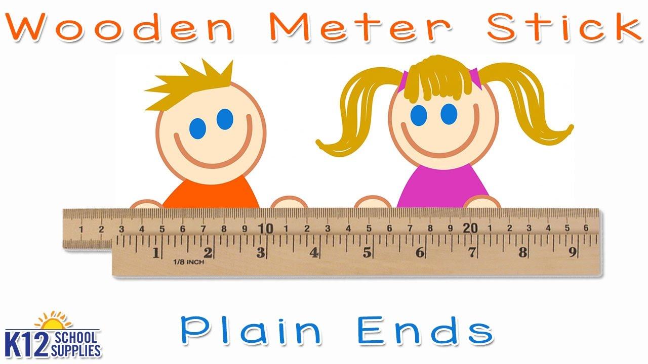Meter Stick - Meter Ruler - Classroom Supplies