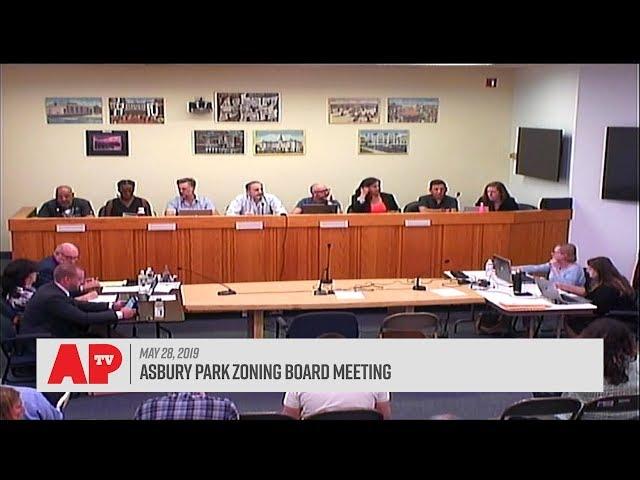 Asbury Park Zoning Board Meeting - May 28, 2019