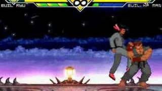 KOSF Battle #6 - Evil Ryu Vs. Evil Kung Fu Man