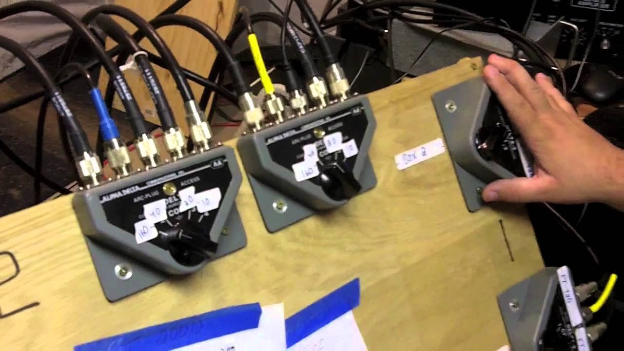 Alpha Delta ASC-4B//N Coaxial Switch 4 Way w// Built in Lightning Surge Protection