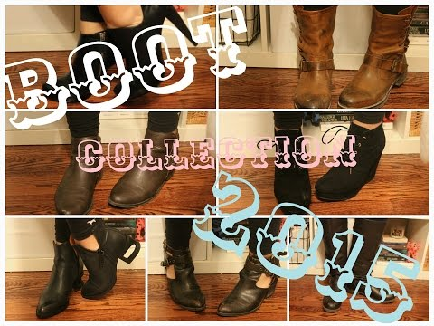 Boot Collection Try-on 2015 Ft. Jeffrey Campbell | Girlcodewithbee