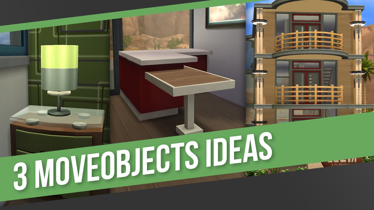 The sims 4 building tips tricks 3 moveobjects ideas for Construction tips and tricks