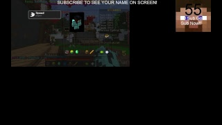 JOIN ME! Streaming Hypixel Skywars! LEAVE IGN AT LIVE CHAT FOR INVITE! Chill Stream. Join Now!