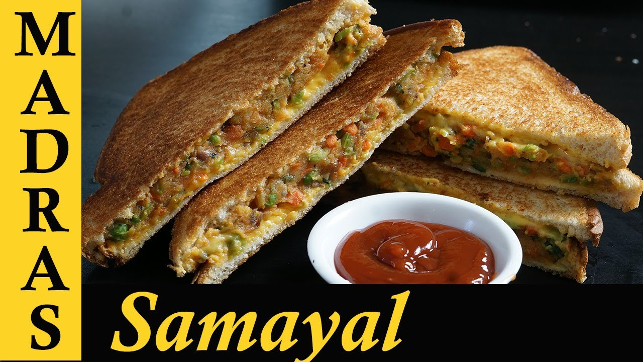 Watch How to Make an Indian Vegetable Sandwich video