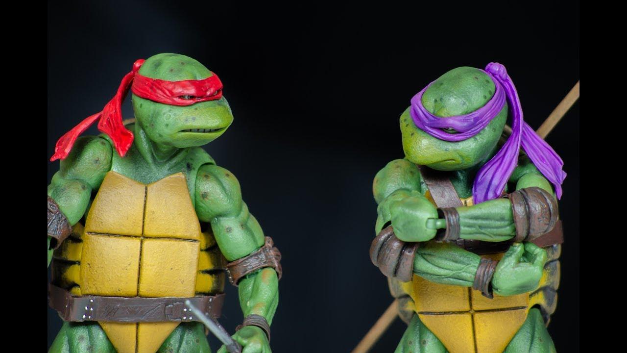 """NECA Teenage Mutant Ninja Turtles Movie 6.5/"""" Michel-Ange"""