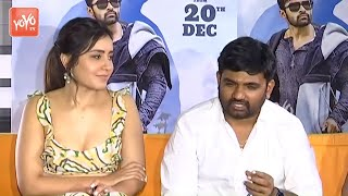 Prathi Roju Pandage Movie Press Meet | Maruthi | Raashi Khanna
