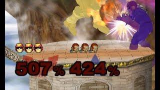 Falcon vs Ganon: Super Sudden Death TAS