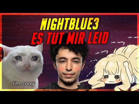 "Meine Entschuldigung an Nightblue3! Nubrac vs Nightblue3 "" Drama "" [League of Legends]"