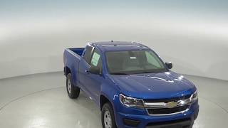 182794 - New, 2018, Chevrolet Colorado, Work Truck, Blue, Standard Cab, Review, For Sale -